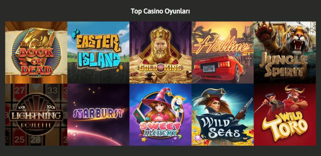 Mr Oyun Top casino oyunları